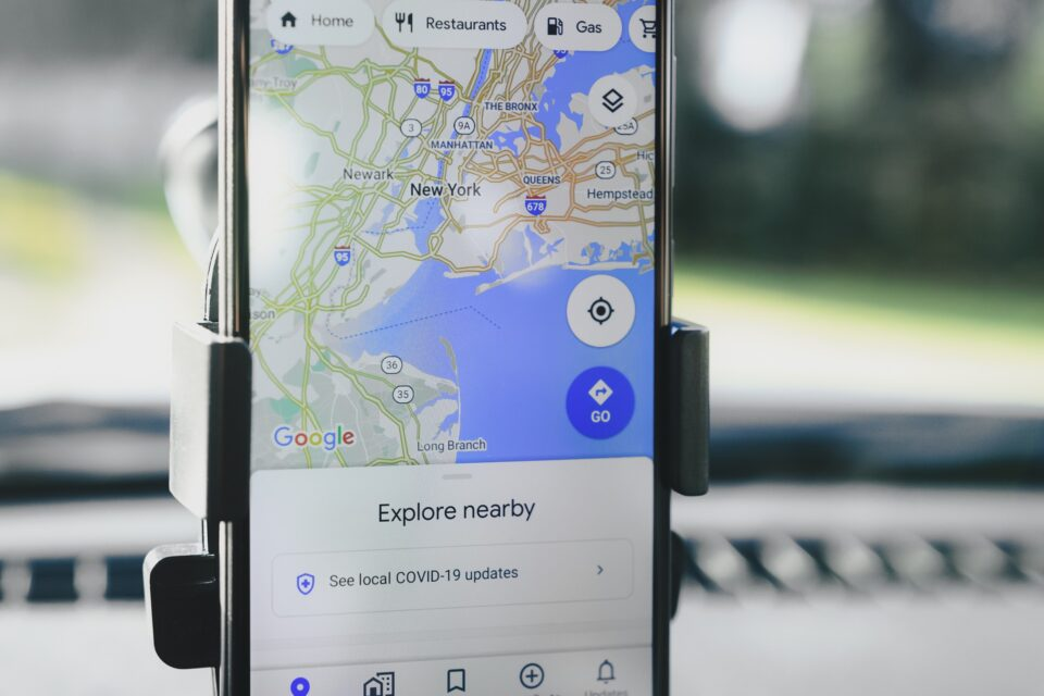 Google Maps with Electric Charging