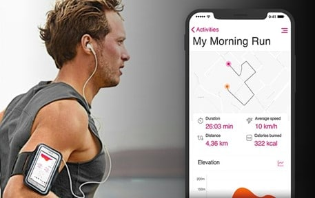 app that manages exercise and nutrition
